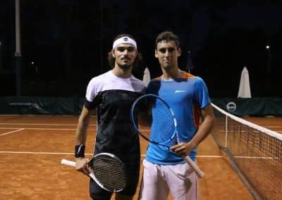 Andrea Collarini y Carlos Taberner