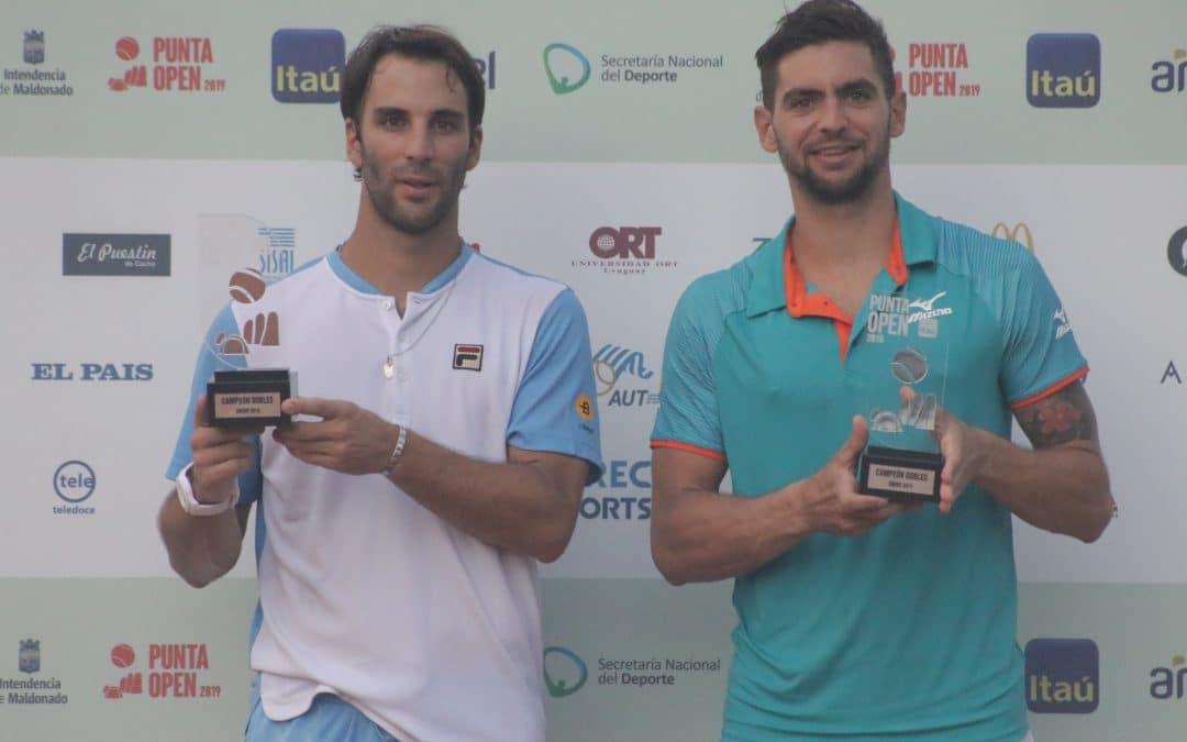 ¡Andreozzi y Durán campeones en dobles!