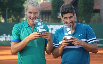 ¡Luz y Matos campeones en dobles!